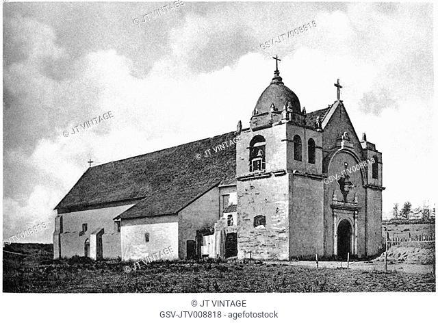 architecture, Carmel, mission, religion, historical
