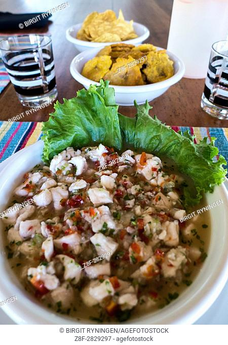 Cost Rica: Ceviche is a seafood dish popular in the coastal regions of Latin America and the Caribbean. . . The dish is typically made from fresh raw fish cured...