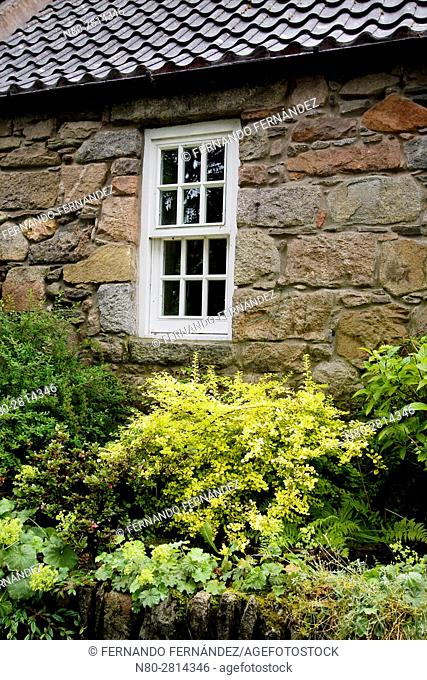 Cottage. Old Aberdeen. Aberdeen. Aberdeenshire. Scotland
