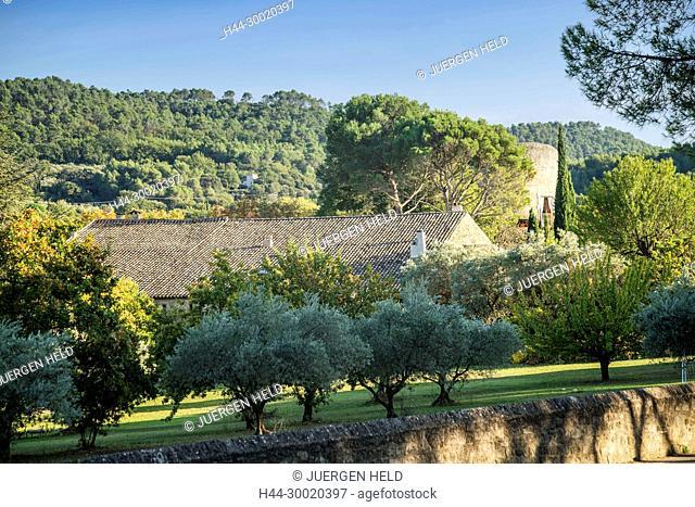 France, Alpes-de-Haute-Provence, Luberon, Finca, Lourmarin, Provence, Vaucluse