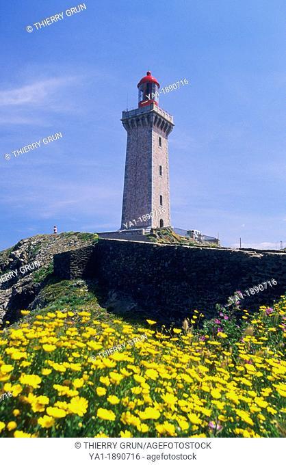 Lighhouse of Cape Bear, Port Vendres, Eastern Pyrenees, Languedoc-Roussillon, France