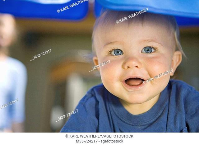 Face of a boy