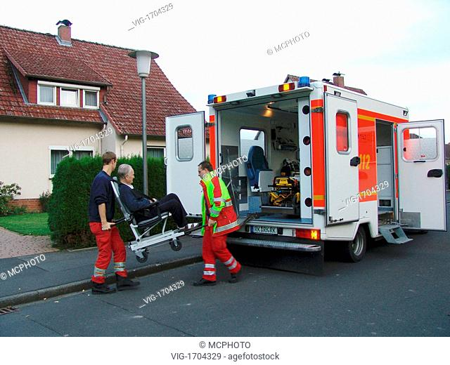 ambulance of the German red cross - 01/01/2009