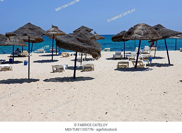 Tunisia - Yasmine Hammamet - The beach