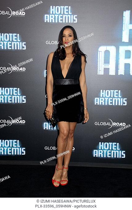 "Dania Ramirez 05/19/2018 The Los Angeles premiere of """"Hotel Artemis"""" held at the Regency Bruin Theatre in Los Angeles, CA Photo by Izumi Hasegawa / HNW /..."