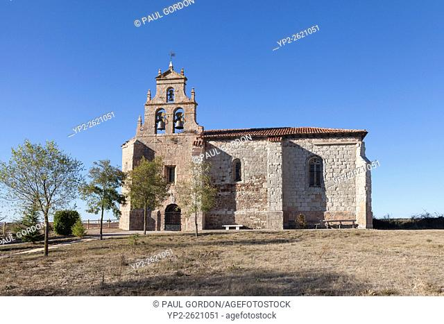 Santovenia de Oca, Spain: Parochial Church of Santa Eugenia