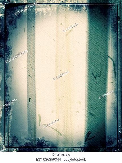 Highly detailed grunge frame with space for your text or image. Great grunge layer for your projects