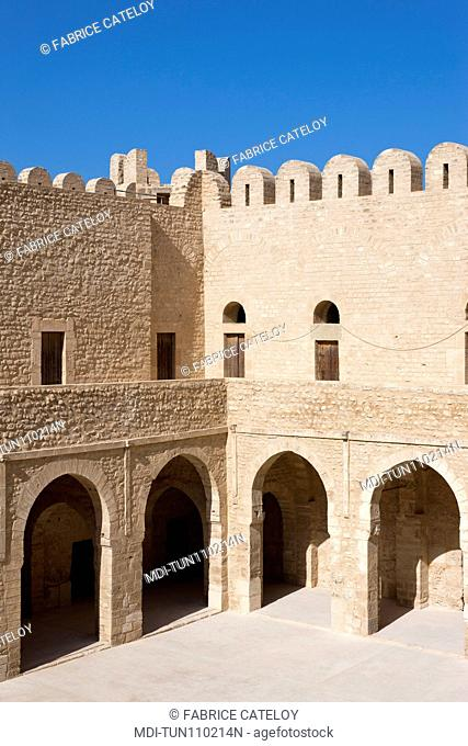 Tunisia - Sousse - Courtyard of the Ribat castle