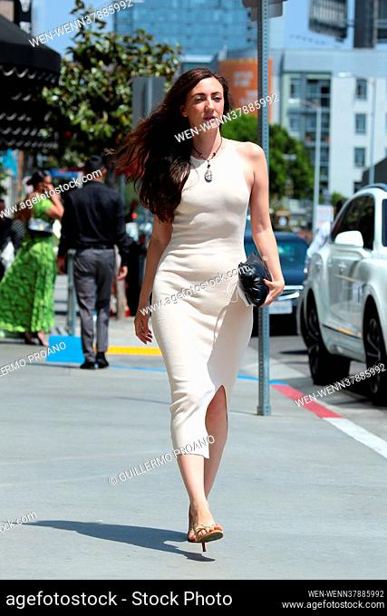 Actress Amber Martinez seen out and about in Hollywood, California Featuring: Amber Martinez Where: Los Angeles, California