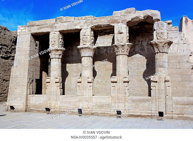 Denderah mammisi birth house, Qena, Egypt