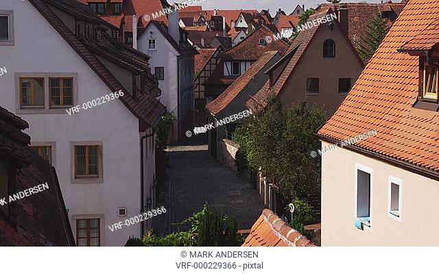 WS TU Old buildings / Rothenburg ob der Tauber, Germany