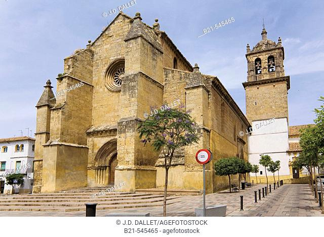 Santa Marina church, Cordoba,  Andalusia, Spain