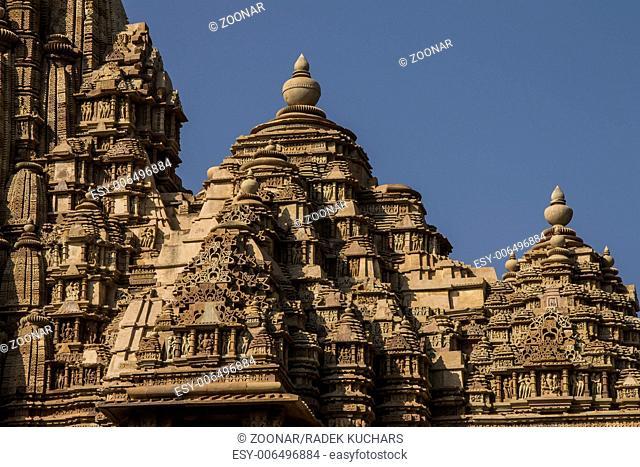 Kandariya Mahadeva Mandir in the Western Group of Temples in Khajuraho