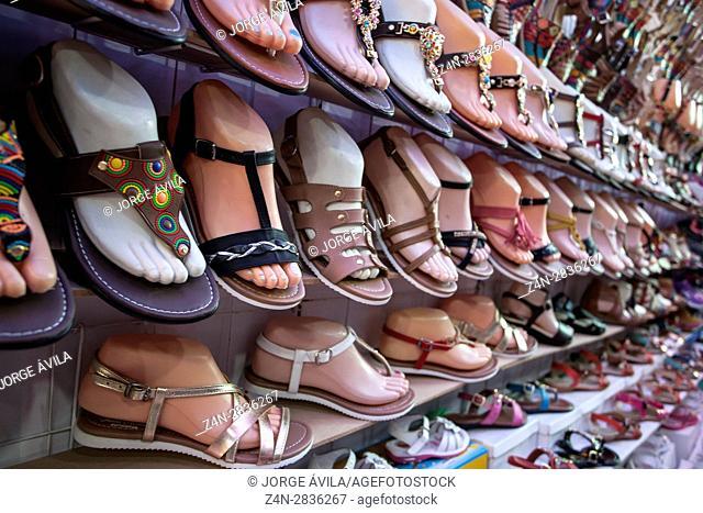 Shoes, market, Mexico