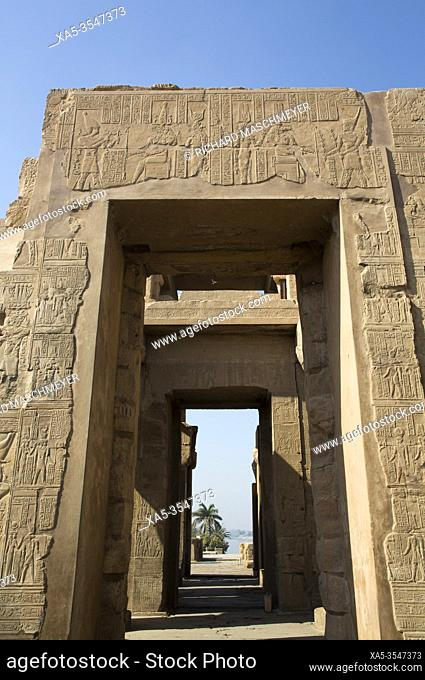 Wall with Reliefs, Temple of Sobek and Haroeris, Kom Ombo, Egypt