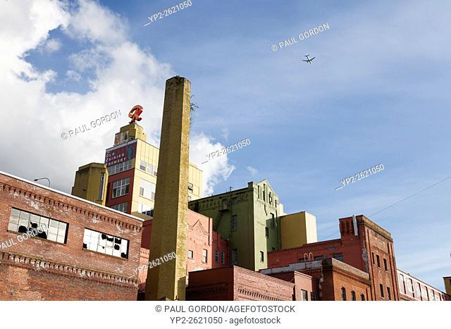 Seattle, Washington: The Old Rainier Brewery. Once home to the Rainier Brewing Company, the mixed-use development of restored industrial buildings now offers...