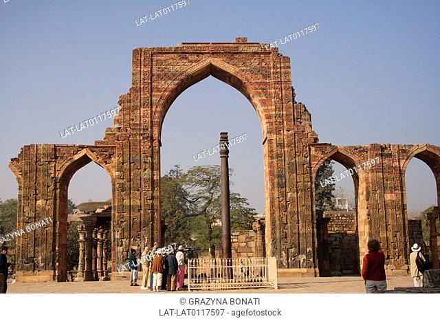 Qutab Minar is a historic mosque, and an important example of Indo-Islamic Architecture. The ruined arches of the mosque are a place of pilgrimage and historic...