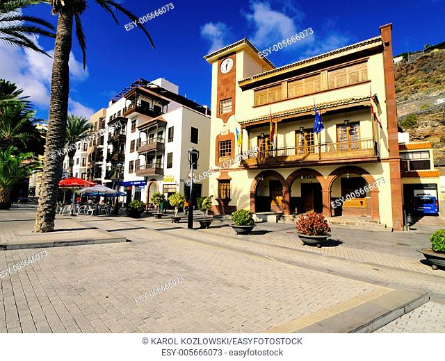 San Sebastian de la Gomera - capital city of Gomera island, Canary Islands, Spain