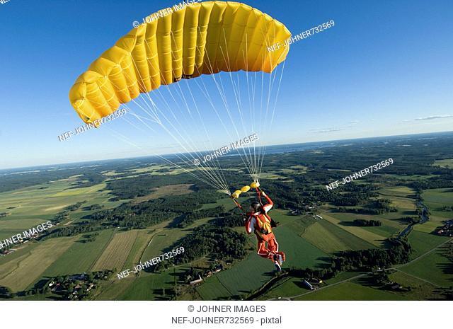 Skydiving, Sweden