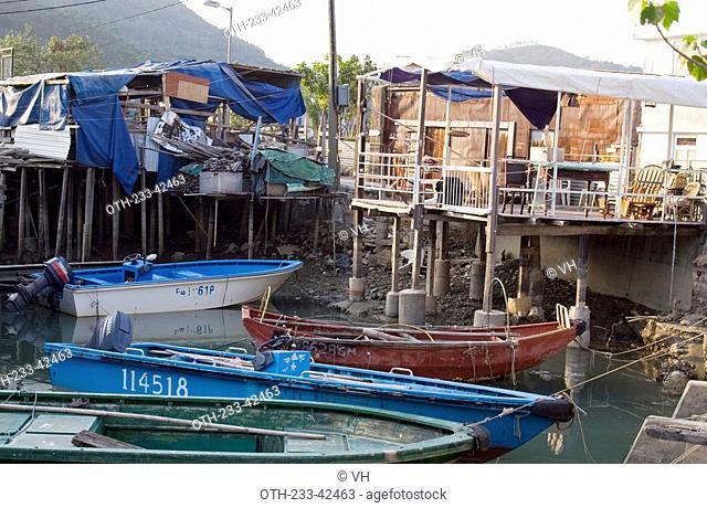 Stilt houses at Tai O village, Lantau Island, Hong Kong