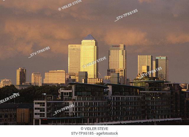 Canary wharf, Docklands, England, United Kingdom, Great Britain, Holiday, Landmark, London, Skyline, Tourism, Travel, Vacation