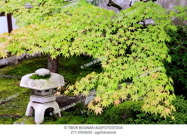 Japan, Kyoto, Tofukuji Temple, garden,