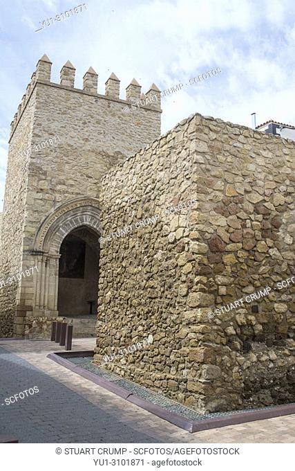 Porche of San Antonio in the city of Lorca in Murcia Spain