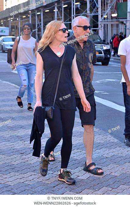Marg Helgenberger and friend strolling in New York Featuring: Marg Helgenberger Where: Manhattan, New York, United States When: 11 Sep 2015 Credit: TNYF/WENN