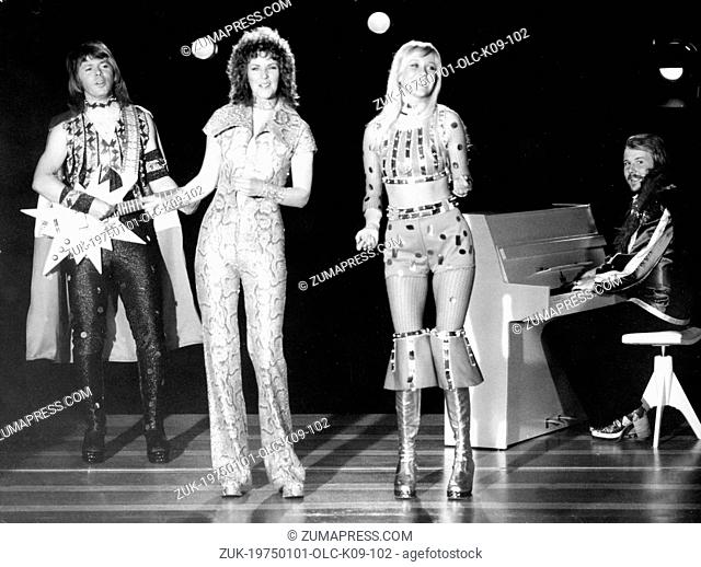 Jan. 1, 1975 - Stockholm, Sweden - During the 1970s, one of the most dominating forces within the field of popular music was a group from Sweden called 'ABBA'
