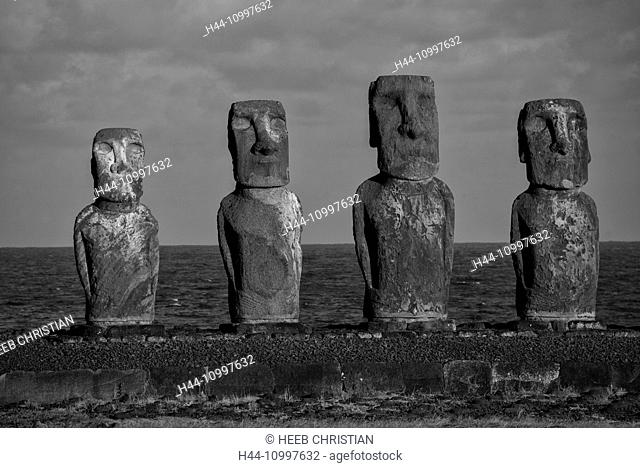 South America, Chile, Easter Island, Isla de Pasqua, south pacific, UNESCO, World Heritage