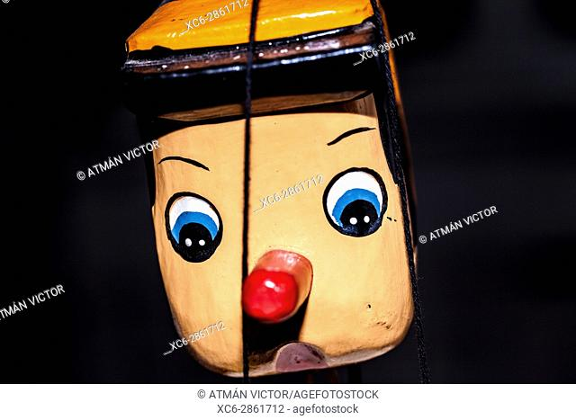 pinocchio wooden marionette
