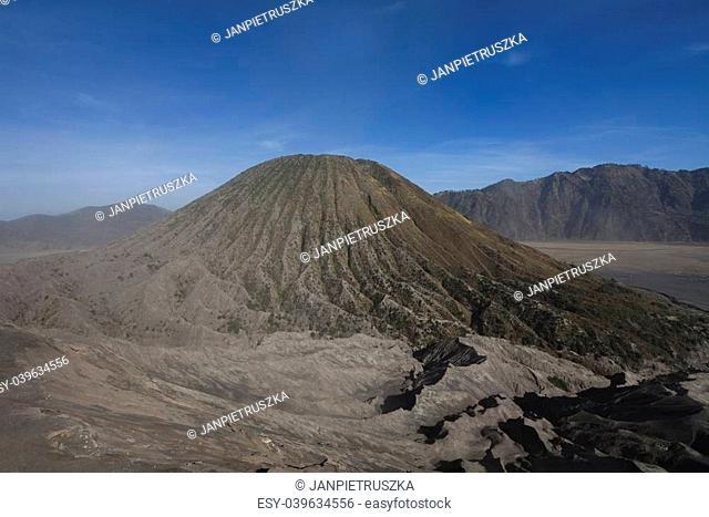 Volcano in Bromo, Java, Indonesia