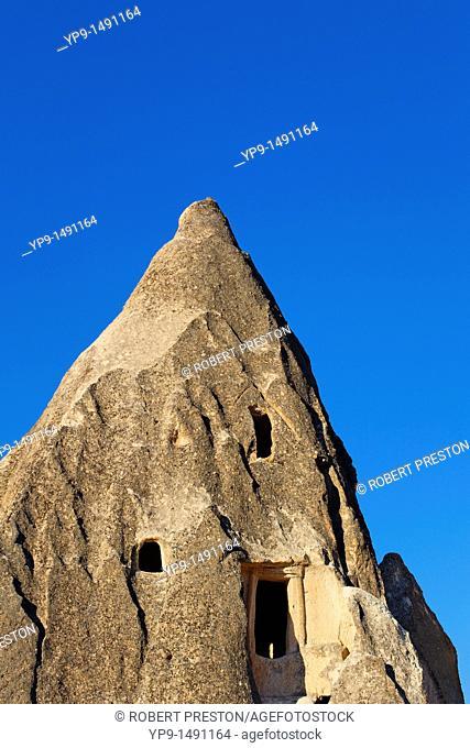 Turkey - Cappadocia - Gorome - troglodyte dwellings in Sword Valley