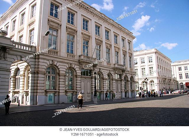 Royal Place, Regenschapsstraat, Brussels, Belgium