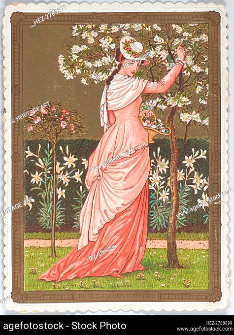 Valentine, 1876. Creator: Walter Crane