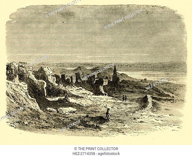 'Ruins at Sais', 1890. Creator: Unknown