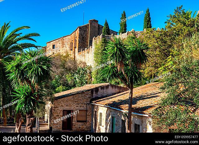 Palace of de Juan Pizarro de Orellana, 16th century. Old town of Trujillo, Caceres province, Extremadura, Spain