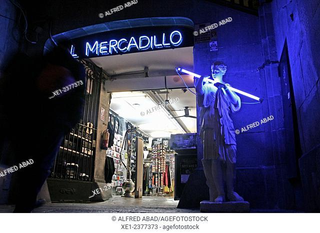 El Mercadillo, young fashion, Gothic Quarter, Barcelona, Catalonia, Spain