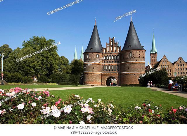 The Holsten Gate / Holstentor Lubeck, Schleswig-Holstein, Germany
