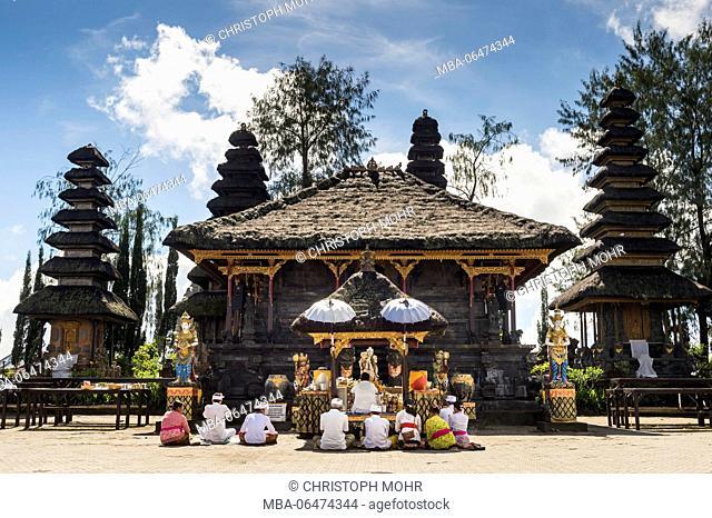 the temple Pura Ulun Danu Batur