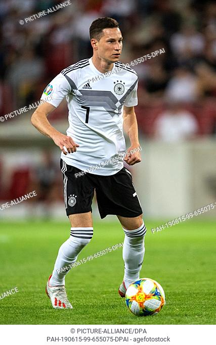 11 June 2019, Rhineland-Palatinate, Mainz: Soccer: European Championship qualification, Germany - Estonia, Group stage, Group C, Matchday 4