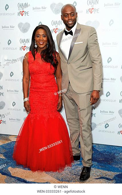 Celebrity arrivals on the red carpet for the Chain of Hope Gala Ball 2017 Featuring: Tessa Sanderson Where: London, United Kingdom When: 17 Nov 2017 Credit:...