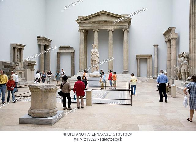 Hellenistic Construction Hall, Pergamon Museum, Berlin, Germany