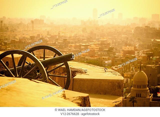 Cairo Ramadan cannon, Saladin Citadel of Cairo - Egypt