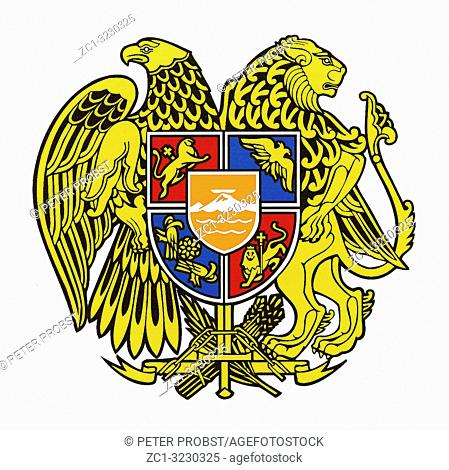 National coat of arms of the Republic of Armenia