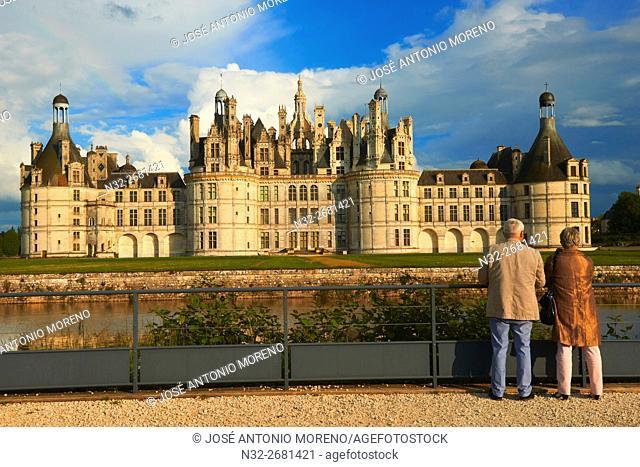 Chambord, Chambord Castle, Chateau de Chambord, Loir et Cher, Loire Valley, Loire River, Val de Loire, UNESCO World Heritage Site, France