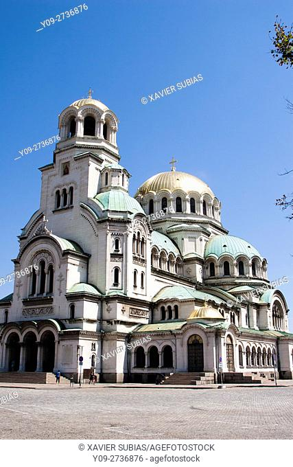 St. Alexander Nevsky Patriarchal Cathedral Memorial Church, Sofia, Bulgaria