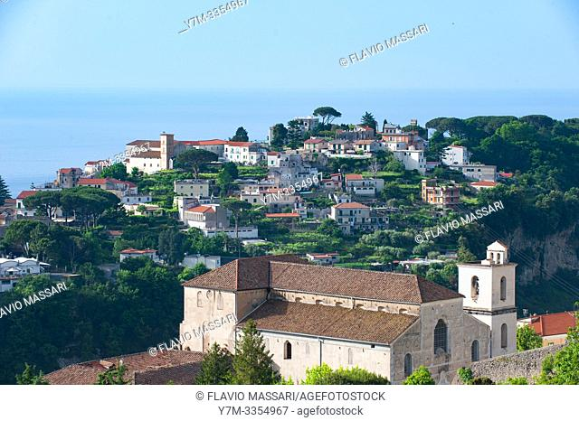 View of Ravello from Scala (Salerno)