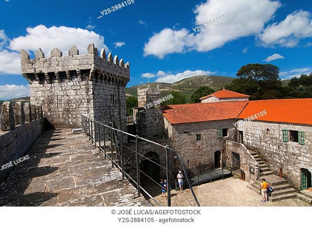 Castle of Vimianzo - 13th century, La Coruna province, Region of Galicia, Spain, Europe