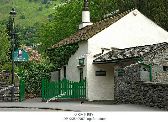 England, Cumbria, Grasmere, Sarah Nelson's Grasmere Gingerbread shop